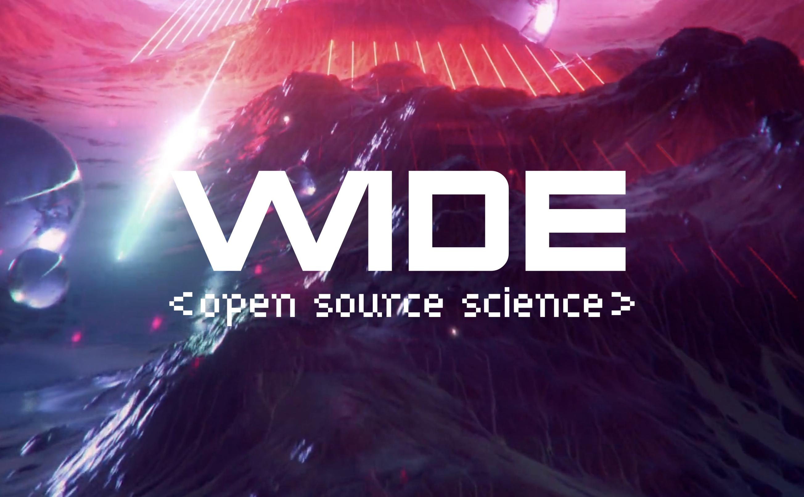 Wide Open Source Science Hackathon Keynote Speech – Heidi Laine